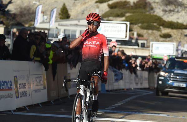 Quintana postavil rekord na prvem delu Mont Ventouxa