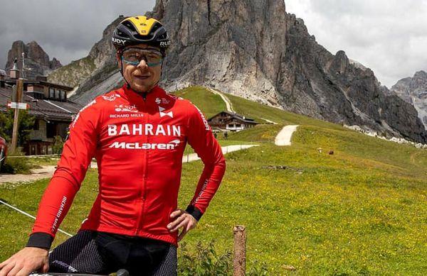 Jan Tratnik za Bicikel: »Pripravljalni kamp s Slovenci eden najboljših doslej«