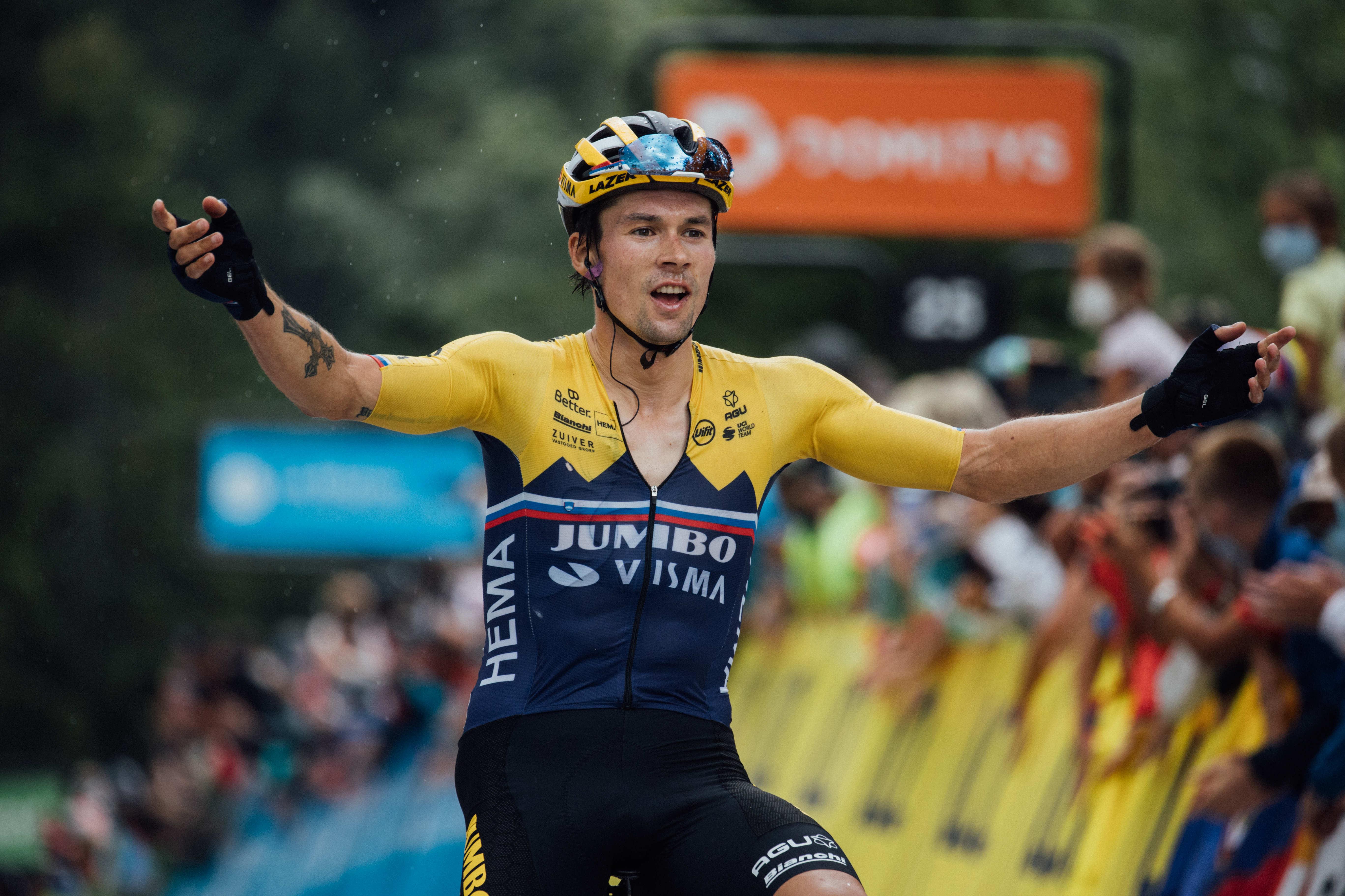 Dvojno slovensko slavje na četrti etapi na dirki po Franciji