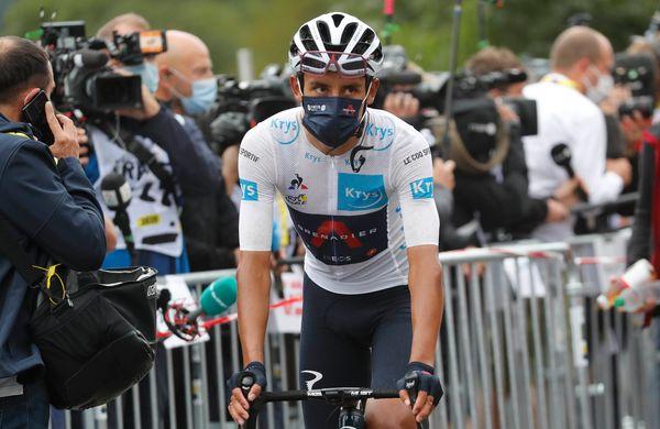 Bernal po nedeljski etapi: »Na zadnjem vzponu sem zelo užival«