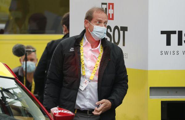 Koronavirus: Ne kolesarji, sam šef dirke pozitiven