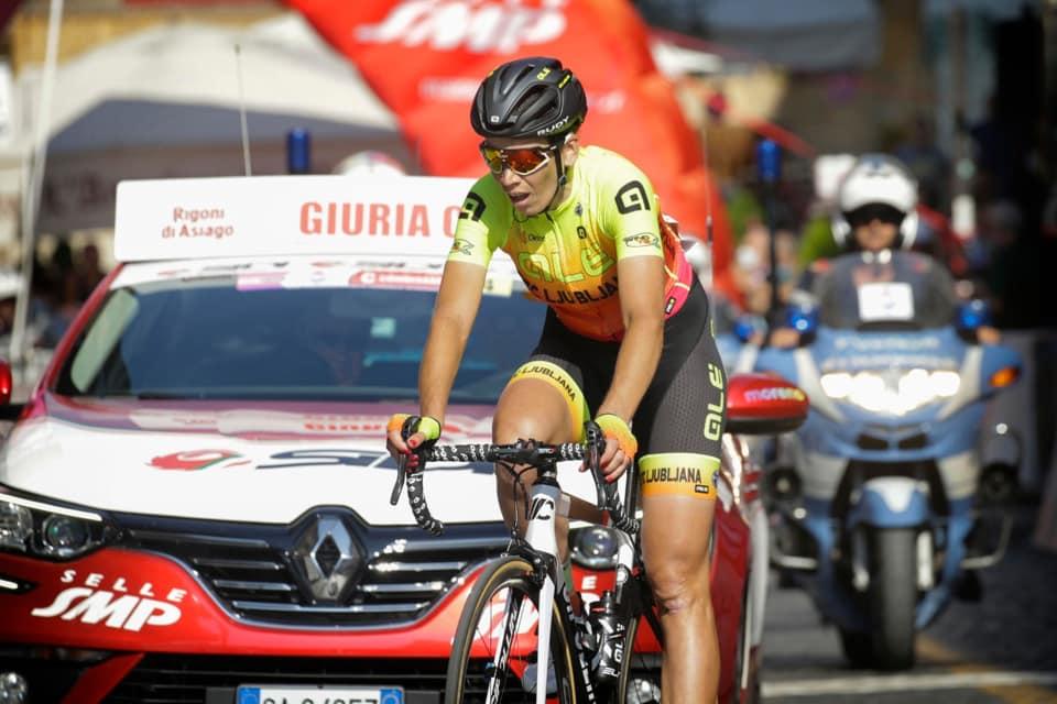 Bujakova v četrti etapi Gira Rosa zelo blizu zmage