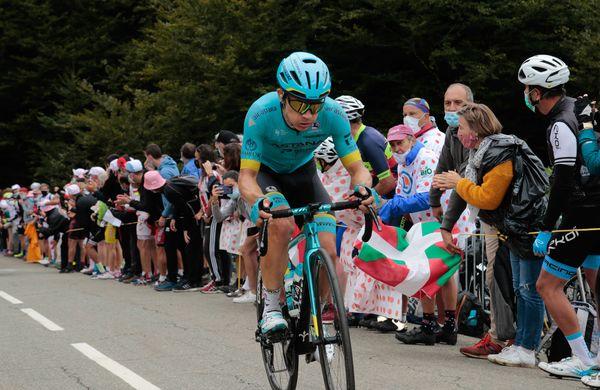 Miguel Angel Lopez zmagovalec kraljevske etape, Primož Roglič in Tadej Pogačar izjemno