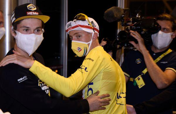 Pogačar in Roglič med kandidati za zlato kolo