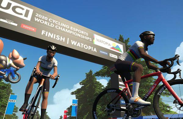 Moolman Pasio in Osborne prva svetovna prvaka na Zwiftu