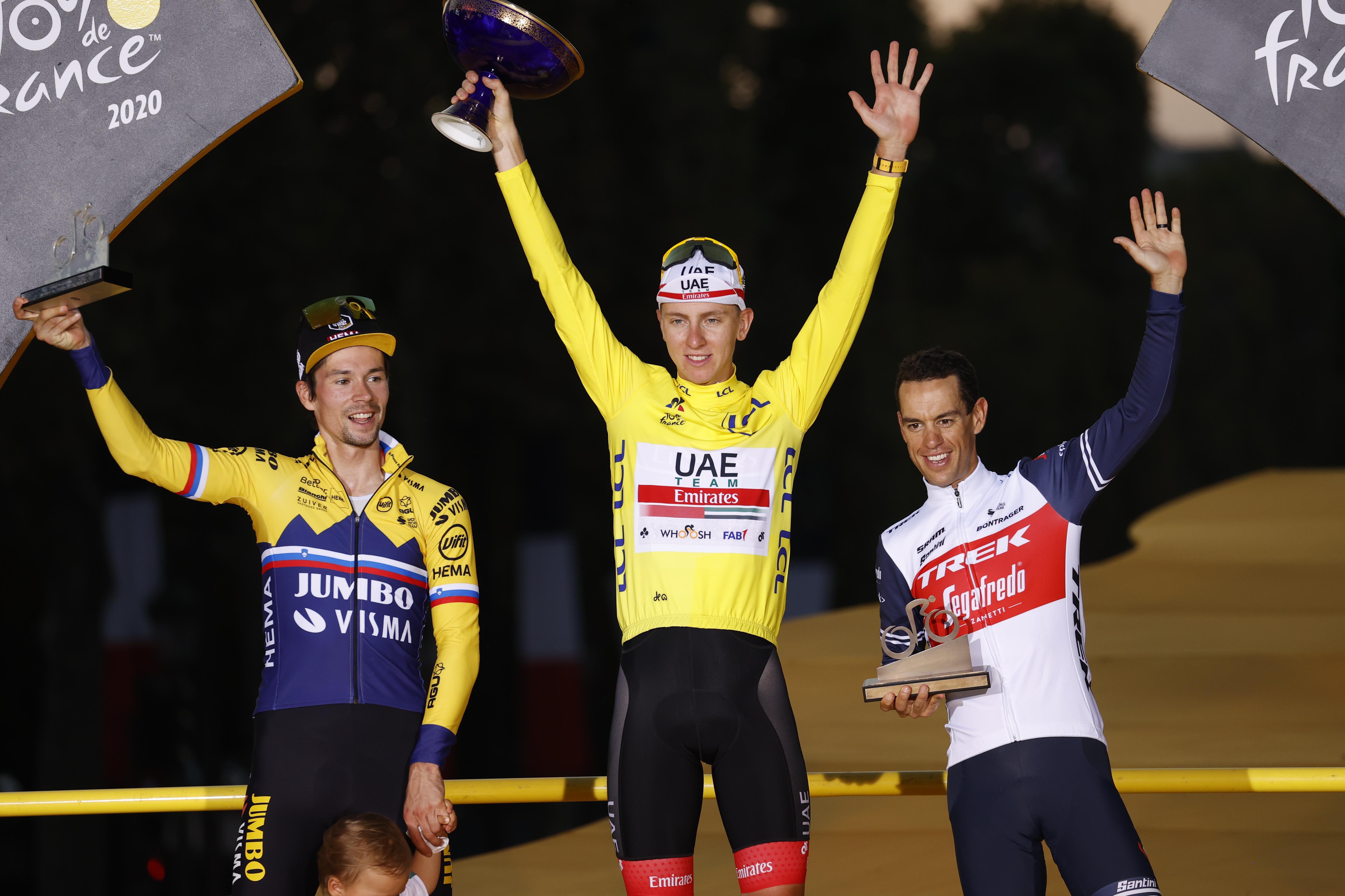 Vse najmočnejše ekipe, vsi kolesarji ...