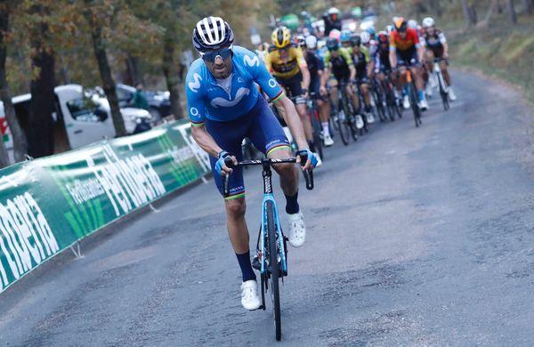 Valverde po 18 mesecih spet na najvišji stopnički