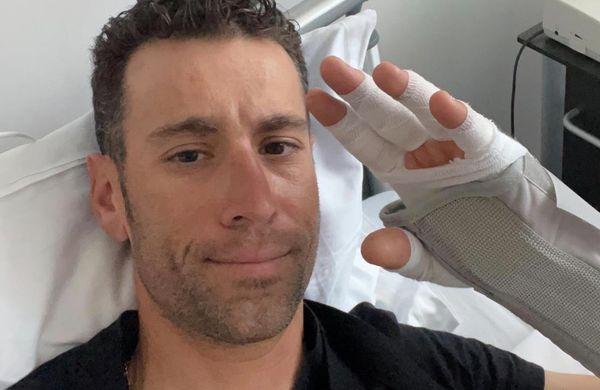 Vincenzo Nibali poškodovan, a še upa na Giro
