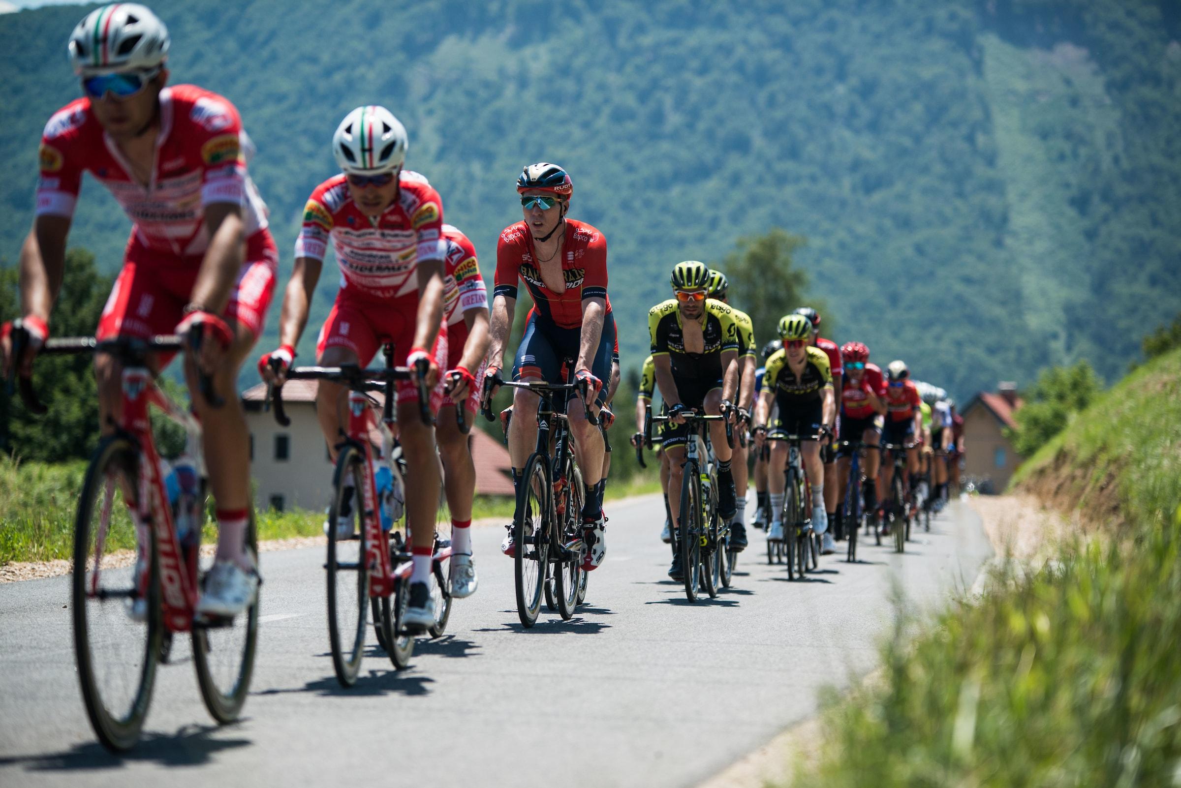 Slovenska pentlja s štirimi ekipami svetovne serije, kraljevska etapa na Primorskem