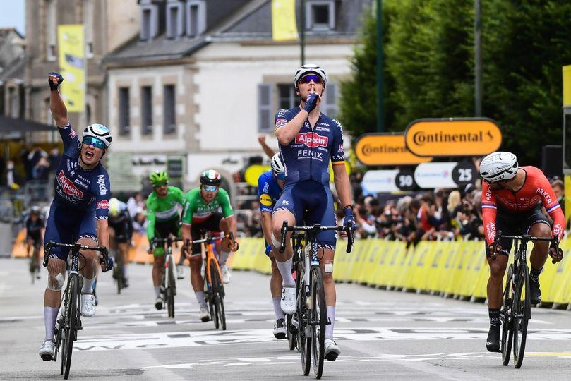 Merlier junak kaotične tretje etape Toura