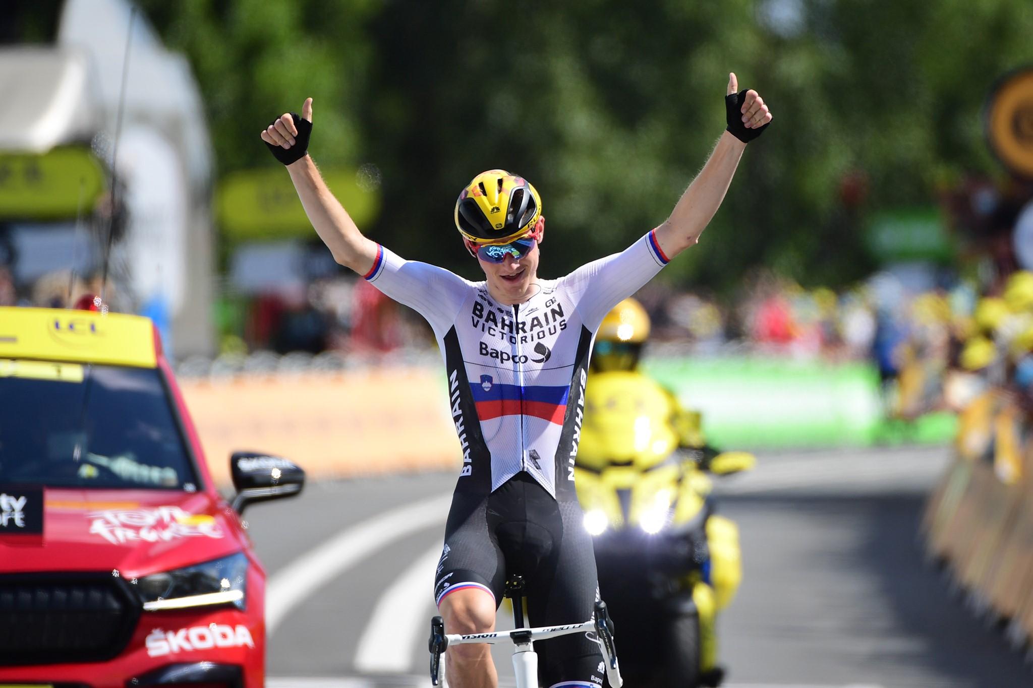 Jezni Mohorič bi za drugo zmago na Touru prej eksplodiral, kot se predal