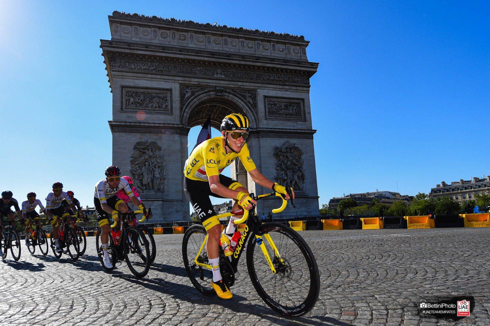 Pogačar spisal še zadnje poglavje pravljice in rumeno majico pripeljal v Pariz!