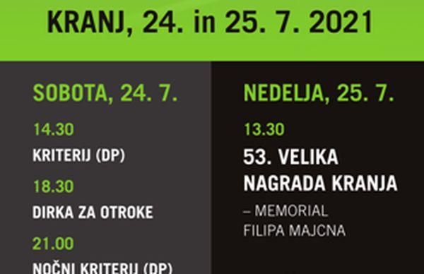 Tekmovalni vikend v Kranju