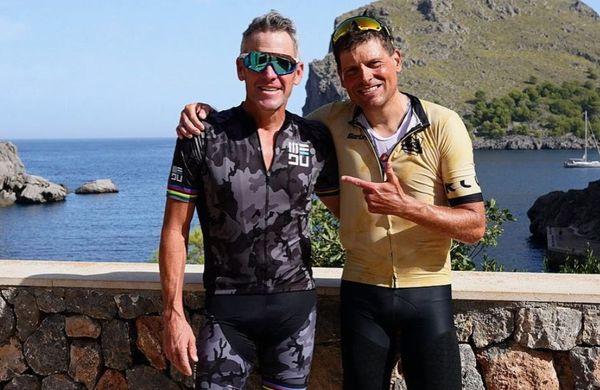 Čustveno srečanje Armstronga in Ullricha