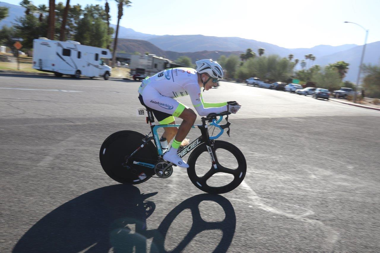 Marko Baloh končal sezono z zmago na Svetovnem prvenstvu v 24-urnem kronometru v Borrego Springsu