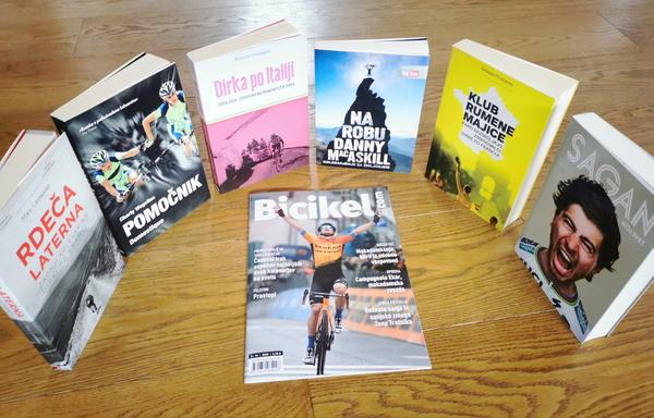 Revija Bicikel.com (letna narocnina) in knjiga po izboru