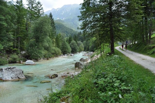 Alpe Adria Trail, etapa 24: Trenta-Bovec