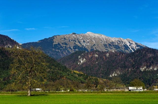 Begunjščica - Veliki vrh (2060 m) iz Drage