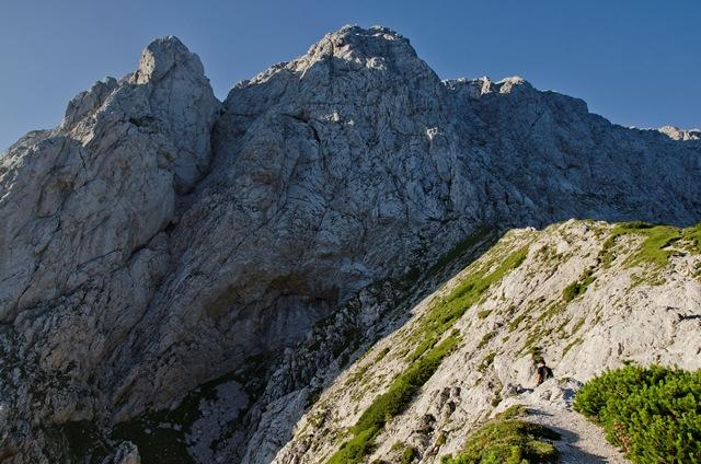 Kalška gora (2047 m) iz Kamniške Bistrice