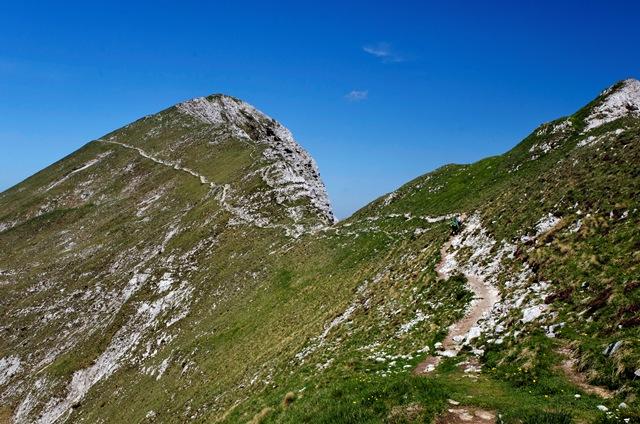 Košuta: Veliki vrh (2188 m) od Matizovca