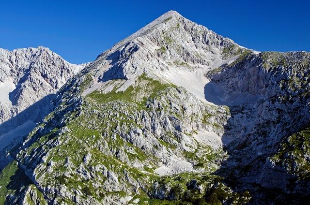 Grintovec (2558 m) od Suhadolnika
