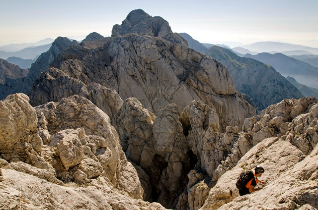 Skuta (2532 m) po Frischaufovi poti