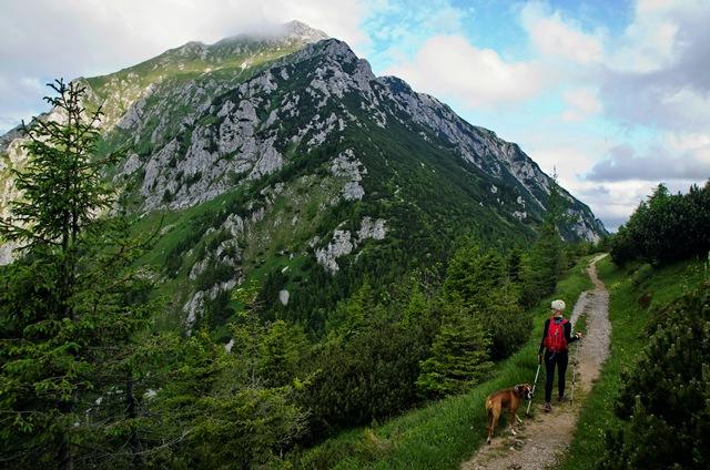 Storžič (2132 m) iz Mač