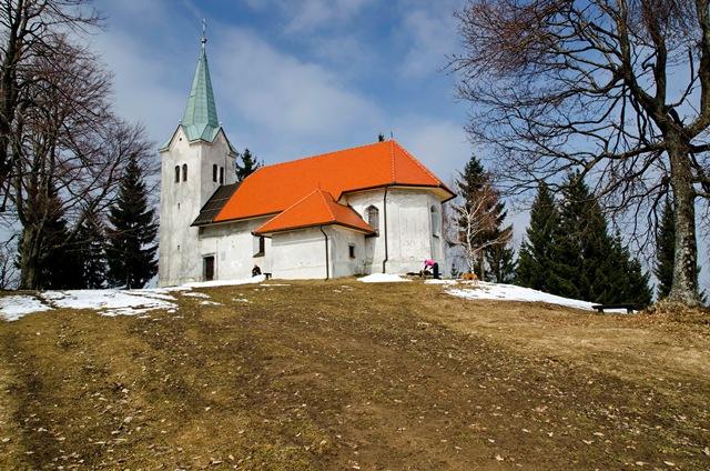 Osolnik (858 m) iz Škofje Loke