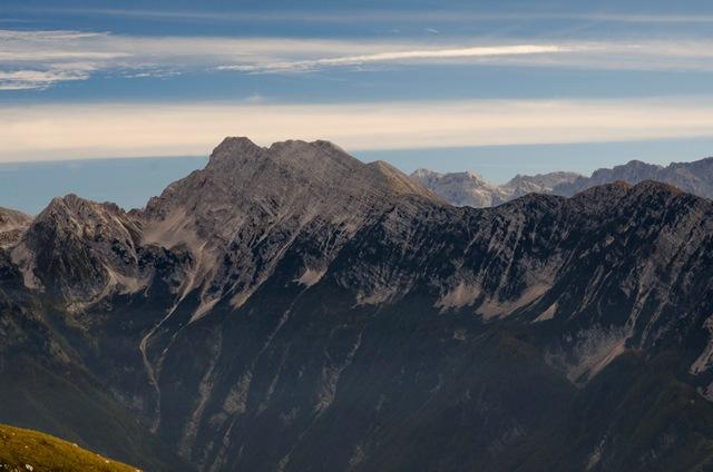 Bavški Grintavec (2347 m) iz Soče