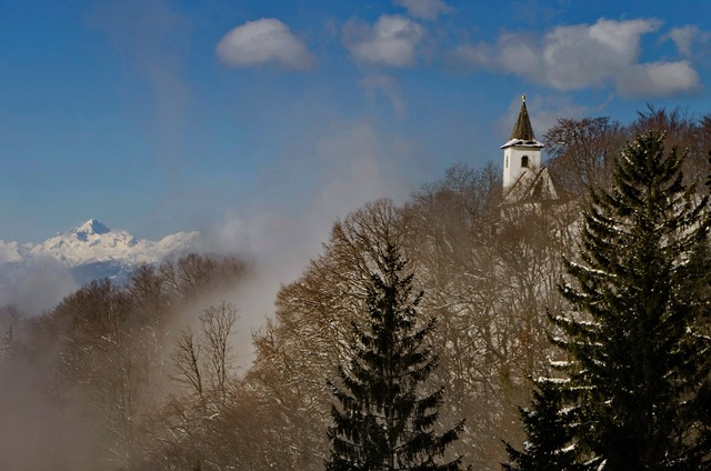 Sv. Jakob nad Preddvorom (961 m)