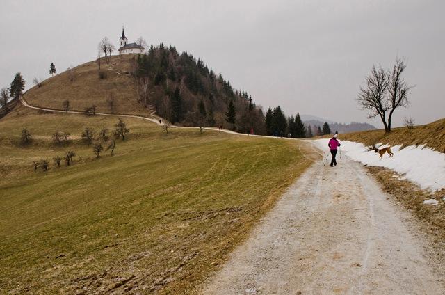 Na Sv. Jakob (806 m) čez Jeterbenk (774 m)