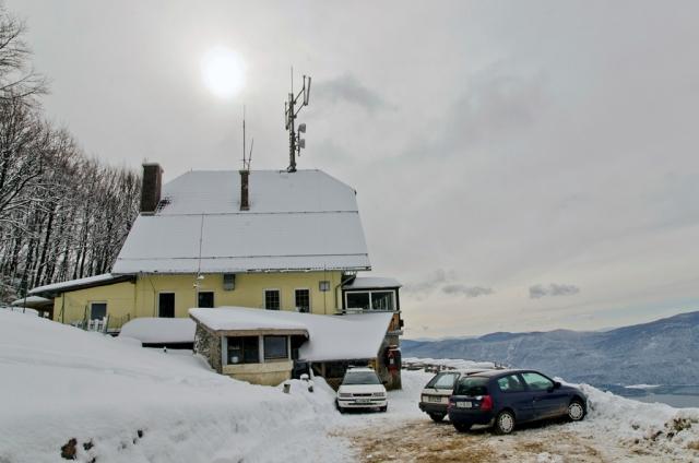 Slivnica (1114 m) Iz Grahovega