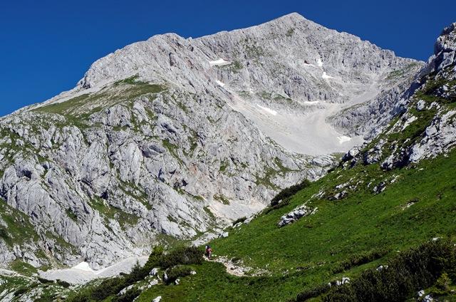 Grintovec (2558 m) iz Kamniške Bistrice
