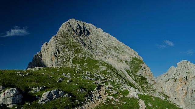Brana (2253 m) iz Kamniške Bistrice
