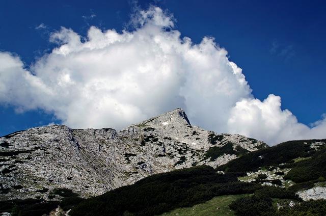 Veliki Draški vrh (2243 m) in Viševnik (2050 m)