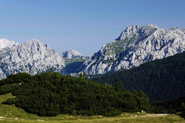 Planjava (2392 m) iz Kamniške Bistrice